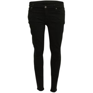 7 For All Mankind Skinny Jeans Central Green